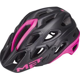 MET Lupo - Casco de bicicleta - rosa/negro